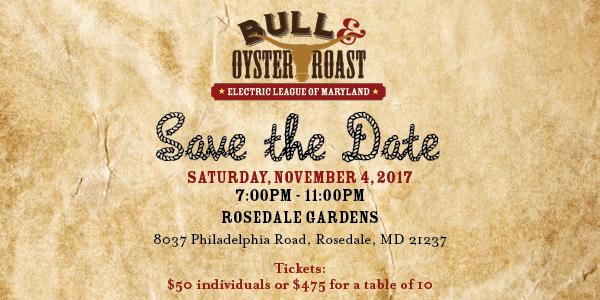 Save the Date Website Bull Roast